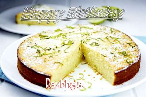 Happy Birthday Rambhajan