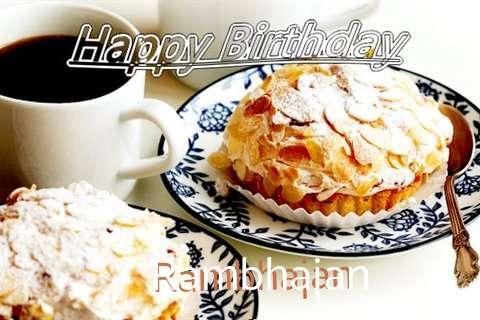 Birthday Images for Rambhajan
