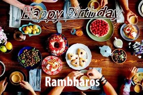 Happy Birthday to You Rambharos