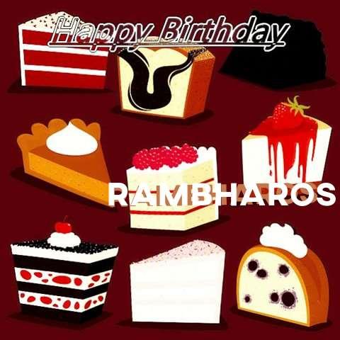 Happy Birthday Cake for Rambharos