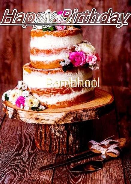 Birthday Images for Rambhool