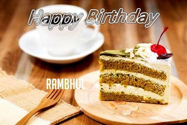 Happy Birthday Rambhul