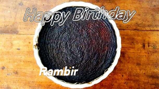 Happy Birthday Wishes for Rambir