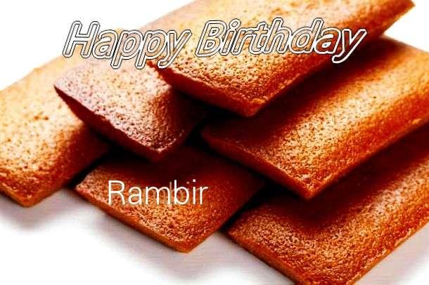 Happy Birthday to You Rambir