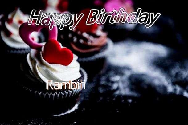 Birthday Images for Rambiri