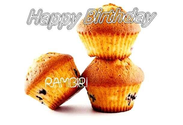 Happy Birthday to You Rambiri