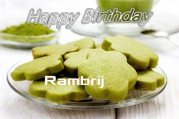 Happy Birthday Rambrij