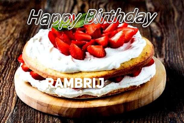 Rambrij Birthday Celebration