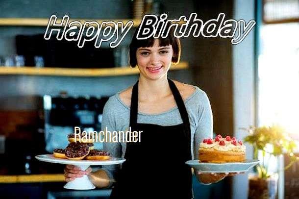 Happy Birthday Wishes for Ramchander