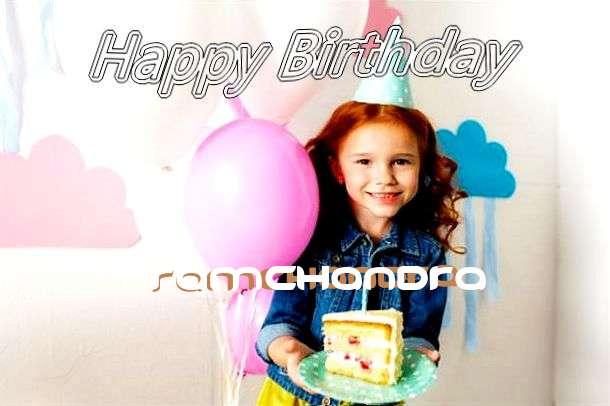 Happy Birthday Ramchandra Cake Image