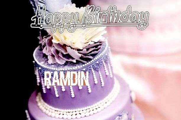 Happy Birthday Ramdin