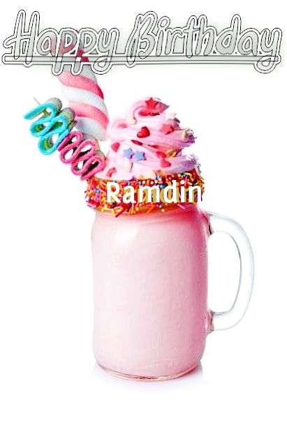 Happy Birthday Wishes for Ramdin