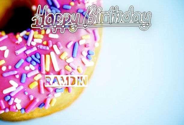Happy Birthday to You Ramdin
