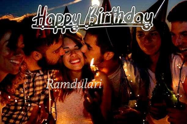 Birthday Wishes with Images of Ramdulari