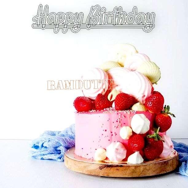 Happy Birthday Ramdutt