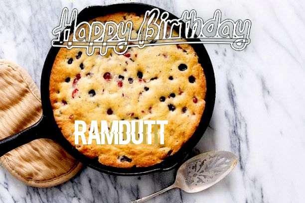 Happy Birthday to You Ramdutt