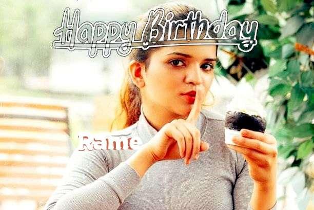 Happy Birthday to You Rame