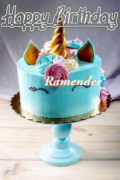 Ramender Cakes