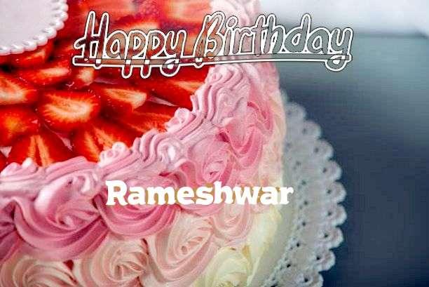 Happy Birthday Rameshwar Cake Image
