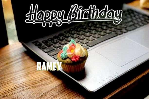 Happy Birthday Wishes for Ramey