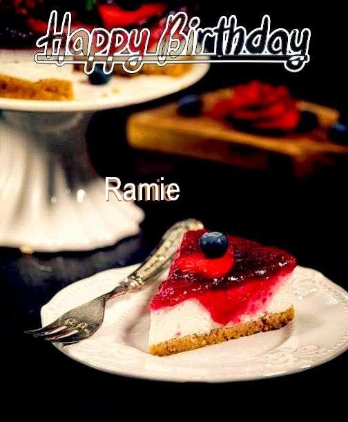Happy Birthday Wishes for Ramie
