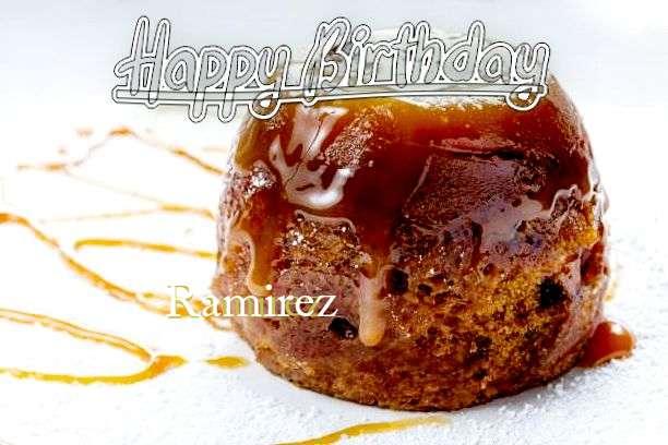Happy Birthday Wishes for Ramirez