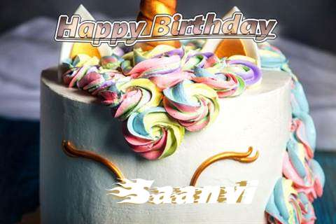 Birthday Wishes with Images of Saanvi