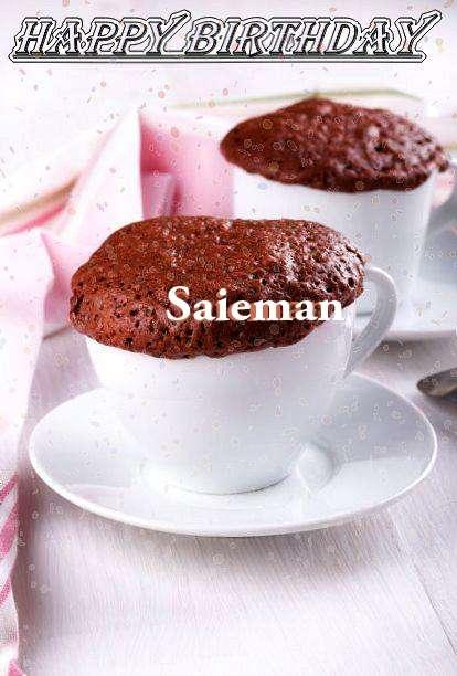 Happy Birthday Wishes for Saieman