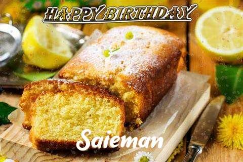 Happy Birthday Cake for Saieman