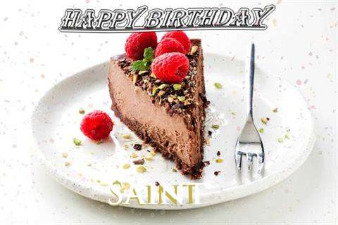 Birthday Wishes with Images of Saint