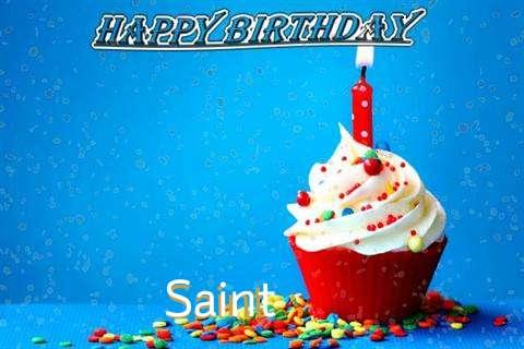 Happy Birthday Wishes for Saint
