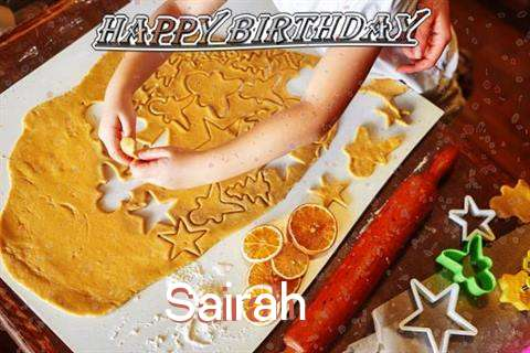 Birthday Wishes with Images of Sairah