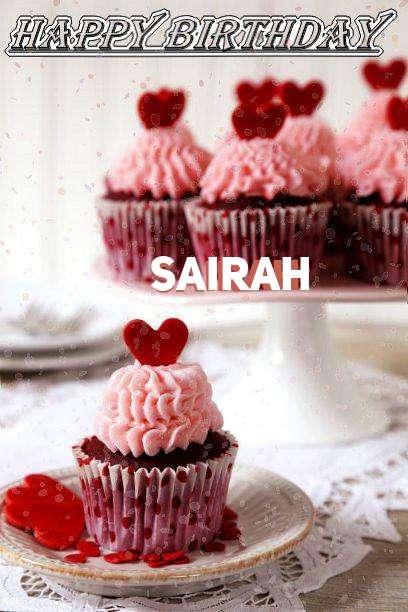 Happy Birthday Wishes for Sairah