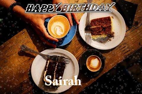 Happy Birthday to You Sairah