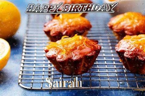 Happy Birthday Cake for Sairah
