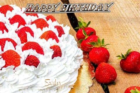 Birthday Wishes with Images of Saisha