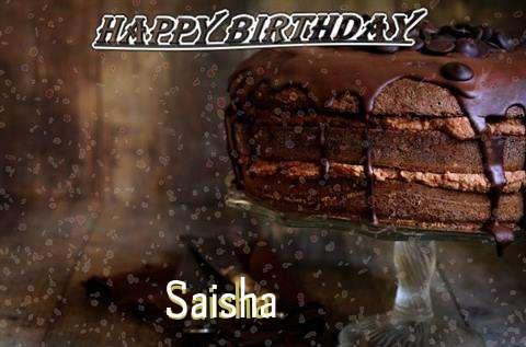 Happy Birthday Cake for Saisha