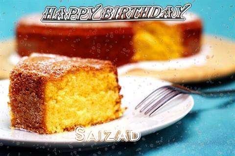 Happy Birthday Wishes for Saizad