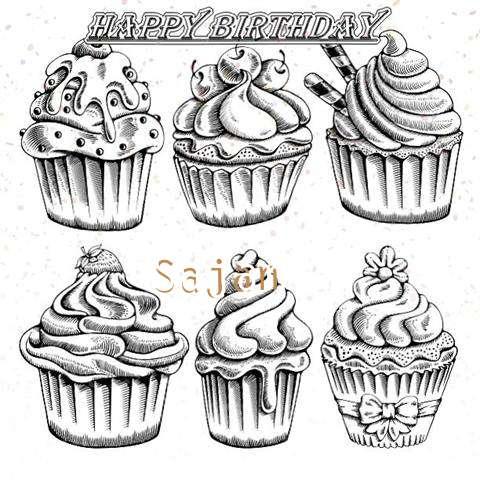 Happy Birthday Cake for Sajan