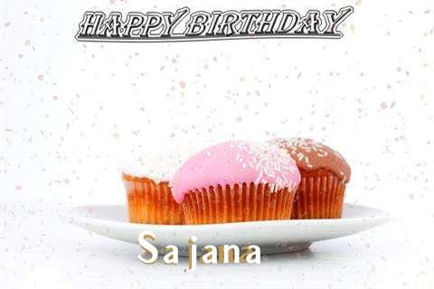 Birthday Wishes with Images of Sajana