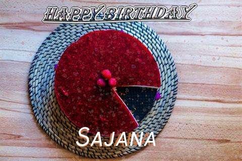 Happy Birthday Wishes for Sajana
