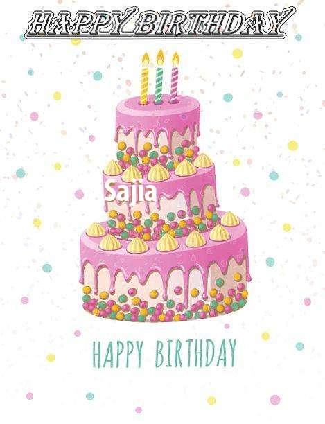 Happy Birthday Wishes for Sajia