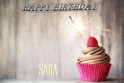 Happy Birthday to You Sajia
