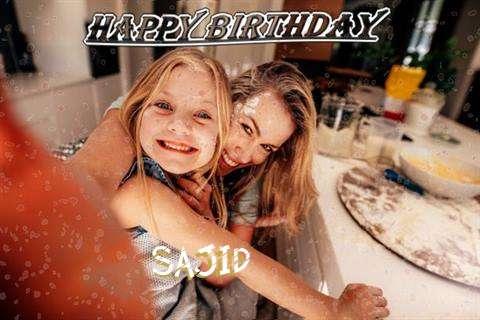 Happy Birthday Sajid