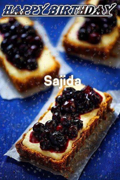 Happy Birthday Sajida