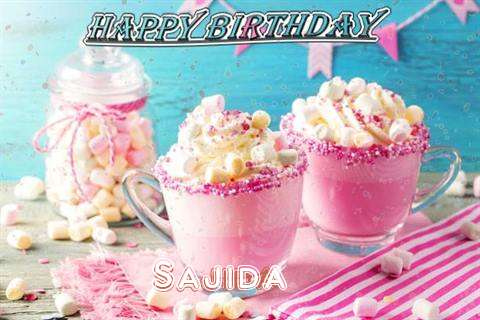 Birthday Wishes with Images of Sajida