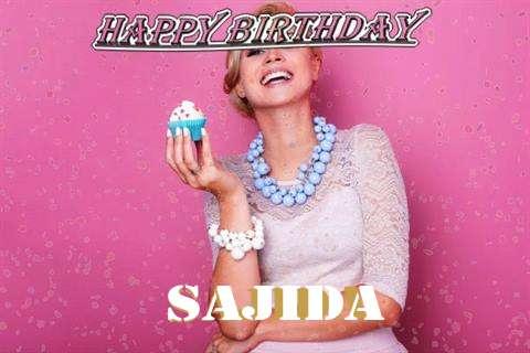 Happy Birthday Wishes for Sajida