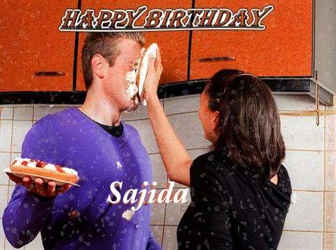 Happy Birthday to You Sajida