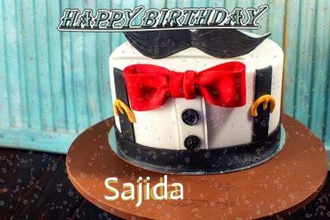 Happy Birthday Cake for Sajida
