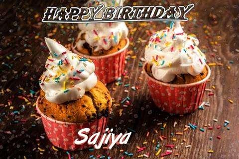Happy Birthday Sajiya Cake Image